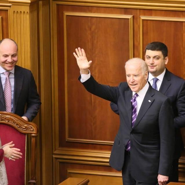 Байден зацитував з парламентської трибуни Тараса Шевченка