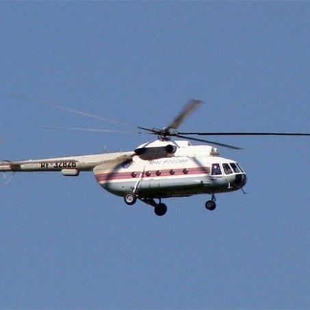 Прикордонники зафіксували російський вертольот на кордоні з Кримом