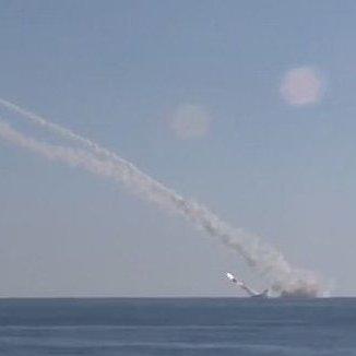 Росія продемонструвала, як б'є по Сирії ракетами з-під води (ВІДЕО)