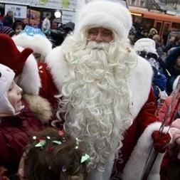 """У столиці """"радять"""" забути про Діда Мороза"""