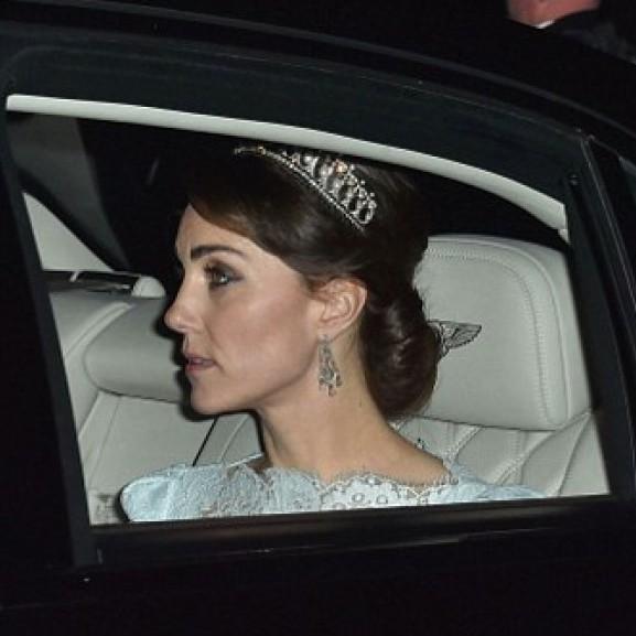 Кейт Міддлтон з'явилася на публіці в тіарі принцеси Діани