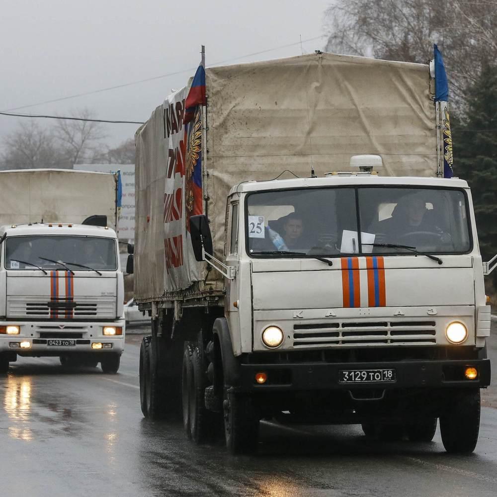 В Росії готують черговий гумконвой для Донбасу