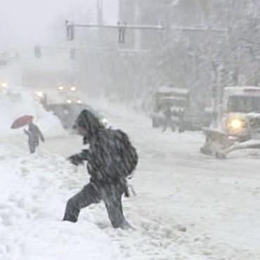 Сьогодні в Україні буде шторм та жахливі погодні умови