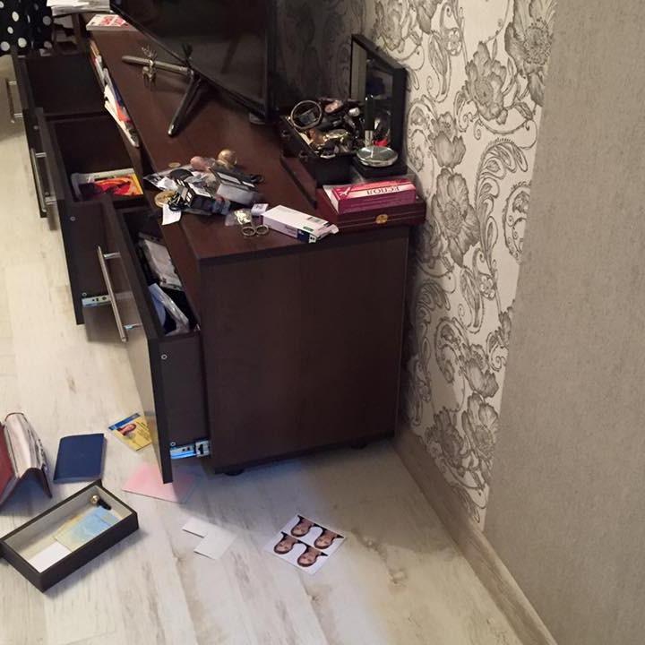 Під Києвом пограбували хату народного депутата (ФОТО)