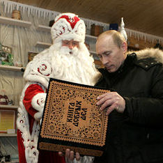 У Криму діти просять у Діда Мороза зустріч із Путіним