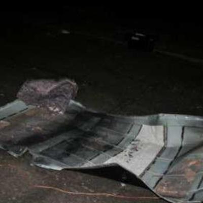Від авто не залишилось нічого: у мережі з'явилися нові фото з місця вбивства козака-революціонера Дрьомова (ФОТО)