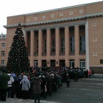 У Стаханові поховали бойовика Павла Дрьомова