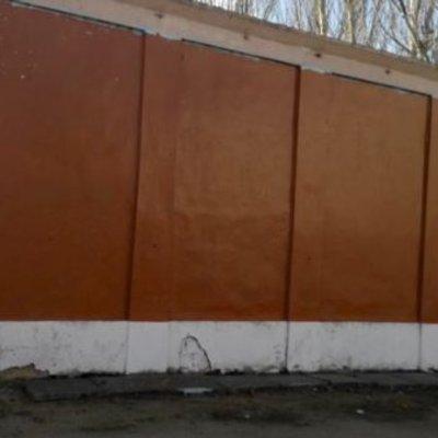 У Керчі замалювали останнє графіті з Путіним