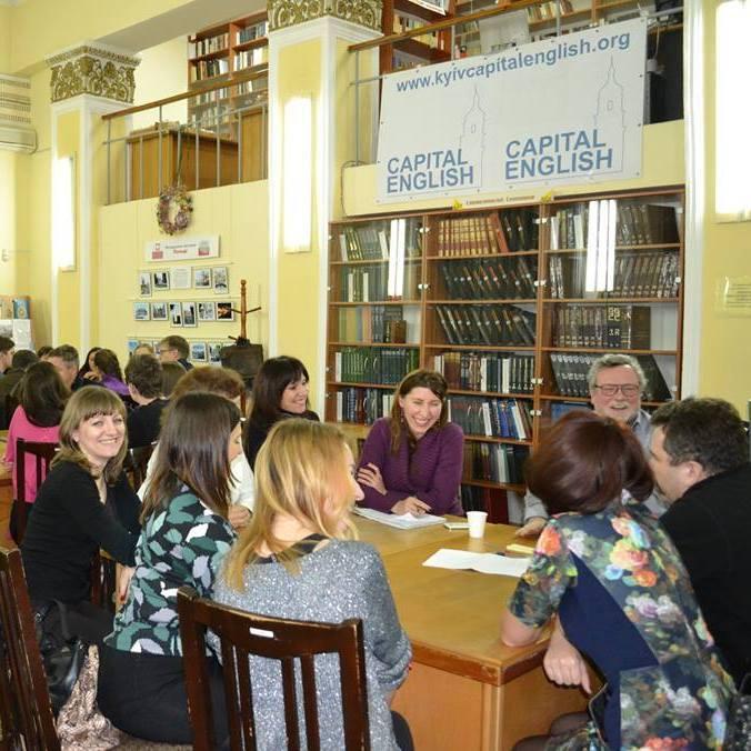 У Києві починається реєстрація на другий семестр безкоштовних курсів Capital English