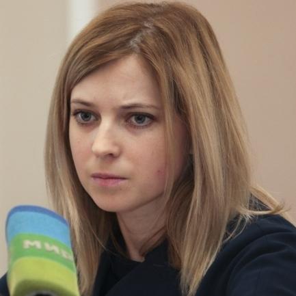 Поклонська звинуватила Іслямова у диверсії через блокаду Криму