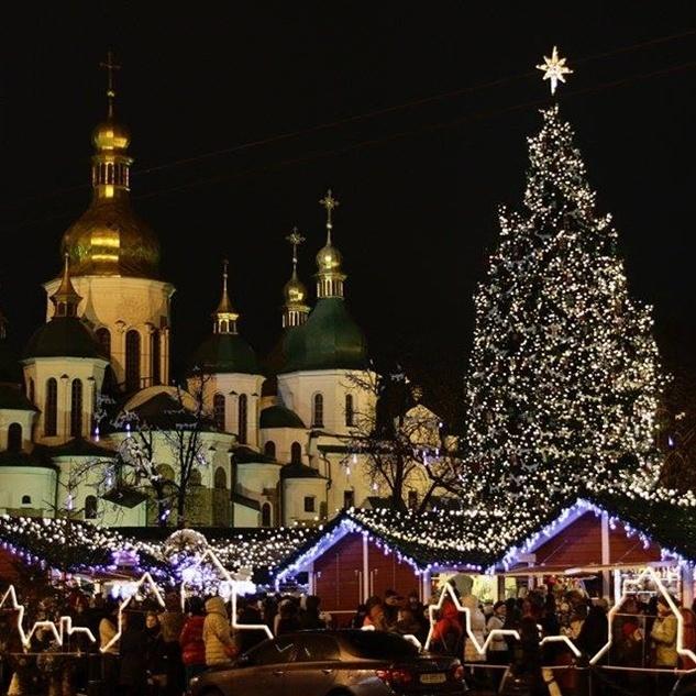 Куди піти розважитися в Києві на новорічні свята
