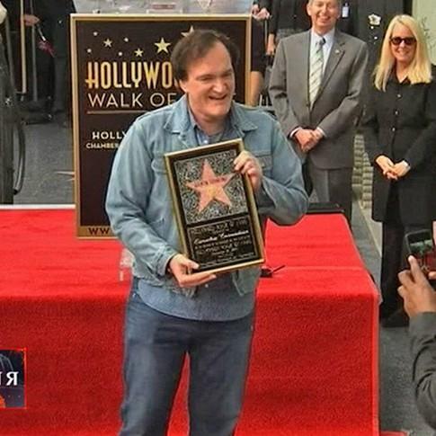 Тарантіно отримав зірку на Алеї слави Голлівуду