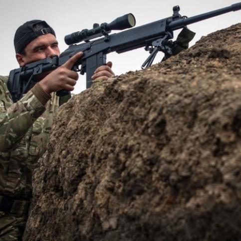 Терористи обладнують бойові позиції на териконі для обстрілу Мар'їнки