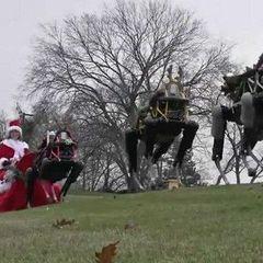 Інженери Google замінили оленів Санта Клауса на роботів (відео)