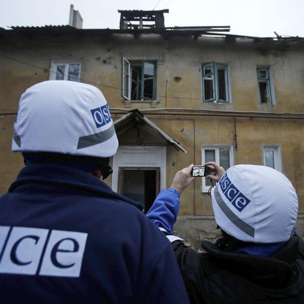 Бойовики у Комінтерново розіграли виставу перед ОБСЄ, - журналіст