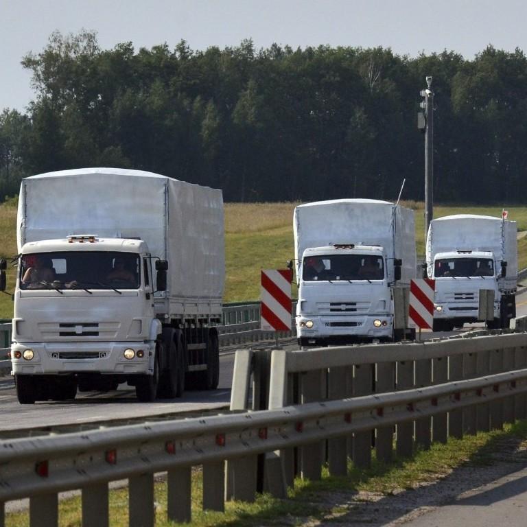"""Російський """"гуманітарний конвой"""" супроводжують машини зв'язку"""