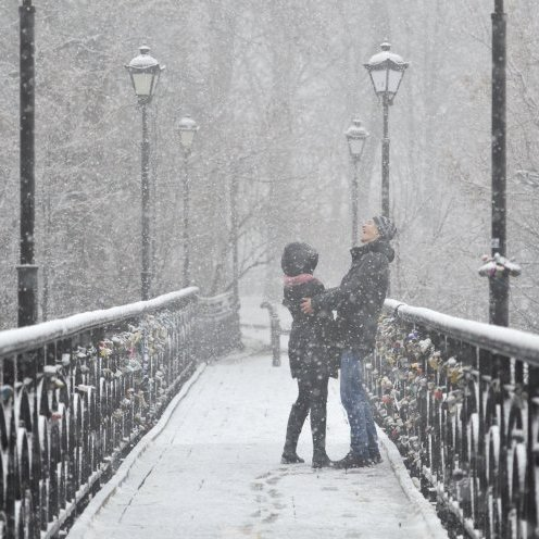 До Нового Року в Україні випаде сніг