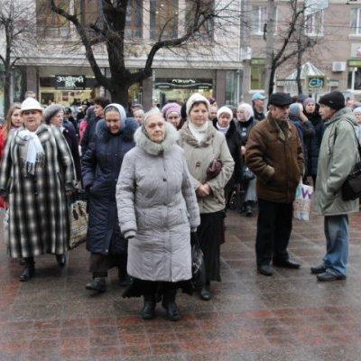 У Кіровограді протестують проти зміни назви