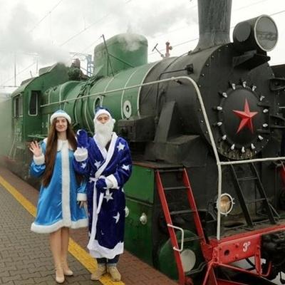 Києвом двічі на день курсуватиме потяг Діда Мороза