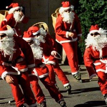 Поліцейські на Різдво перевтіляться у Санта Клаусів