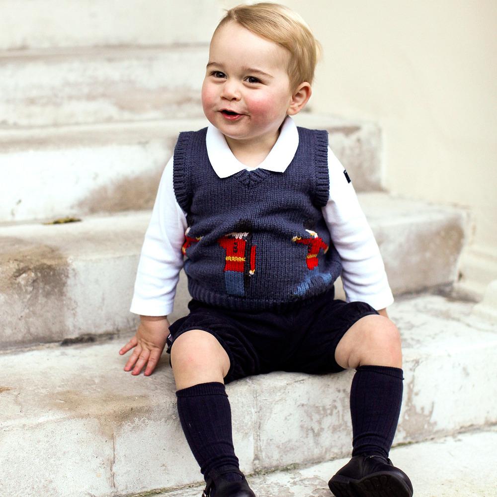 Принц Джордж пішов до дитячого садочка (фото)
