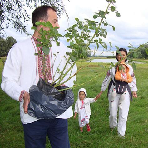 Соболєв показав, як колядують його діти