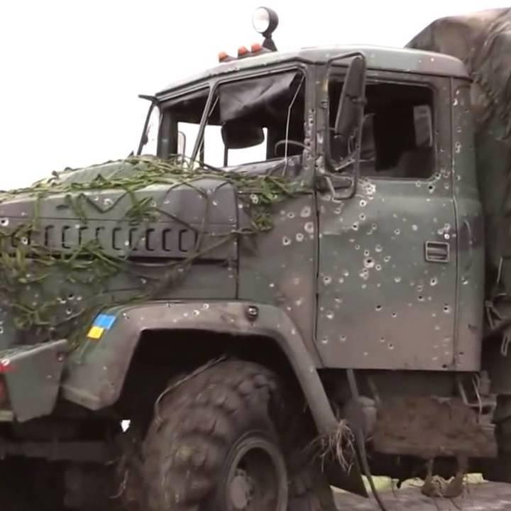 Під Маріуполем підірвалася на міні вантажівка ЗСУ
