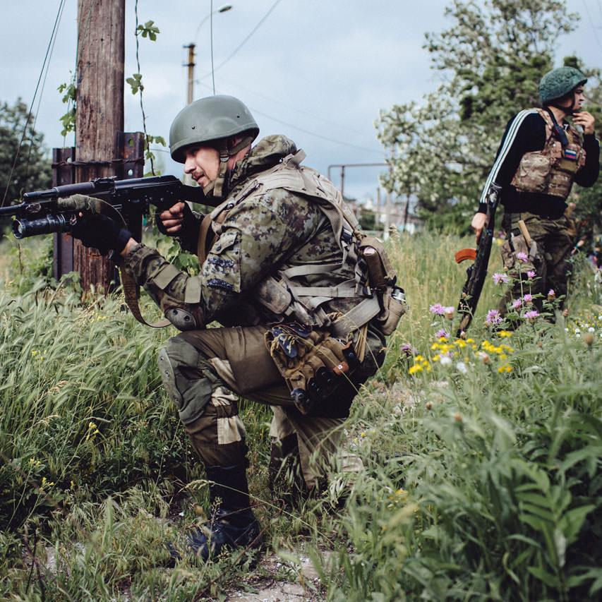 Донецький напрямок опинився під обстрілами