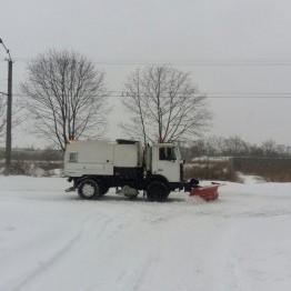 Через негоду в Дніпропетровську перекрито в'їзд вантажівкам