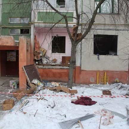 У Чернігові стався вибух у житловому будинку (ФОТО, ВІДЕО)