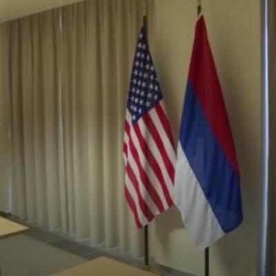 У Держдепі США до приїзду Лаврова повісили перегорнутий прапор РФ