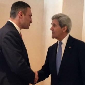 Віталій Кличко в Давосі взяв участь у заході від Washington Post