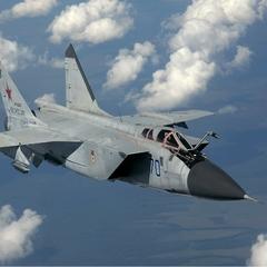 У Росії розбився військовий МіГ-31