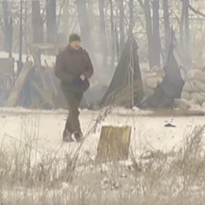На блокпосту під Бердянськом сталася пожежа і вибухи, є постраждалі (ВІДЕО)