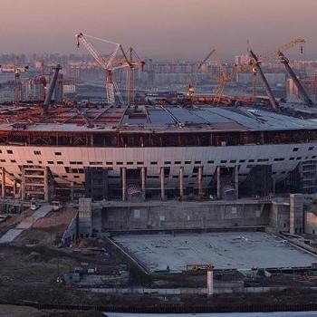 У Санкт-Петербурзі зупинили будівництво стадіону до Чемпіонату світу