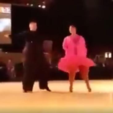 Запальний танок повних людей зруйнував стереотипи(відео)
