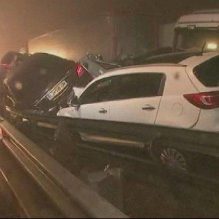 У Словенії в ДТП постраждало 50 автомобілів