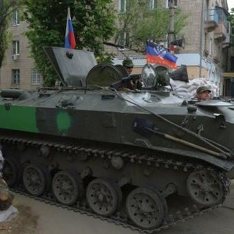 Терористи перекидають бойову техніку до Донецька