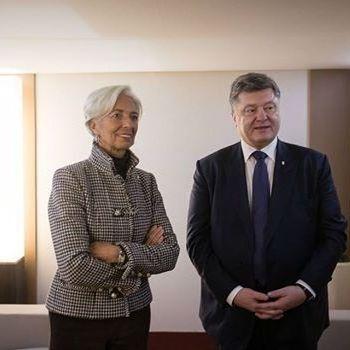 Порошенко пообіцяв МВФ перезавантажити Кабмін