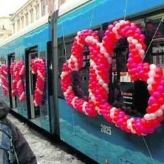 14 лютого на вулицях польських міст з'являться трамваї закоханих