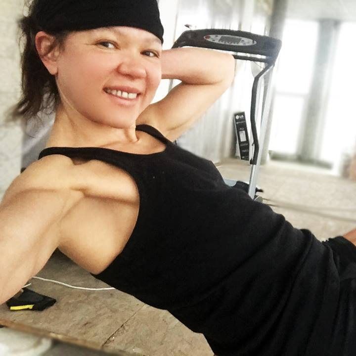 Руслана показала своє тренування