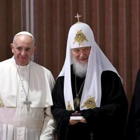 Папа Римський та патріарх Кирило закликали до миру в Україні (ВІДЕО)
