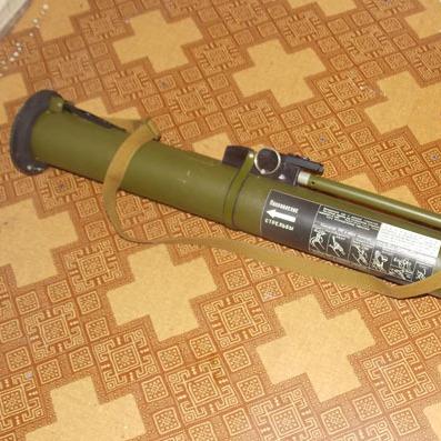 Житель Полтавщини привіз із АТО гранатомет в якості сувеніру (ФОТО)