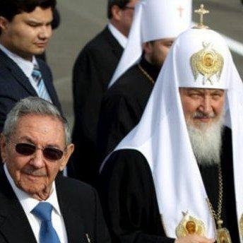 Патріарх Кирило завітав до Фіделя Кастро