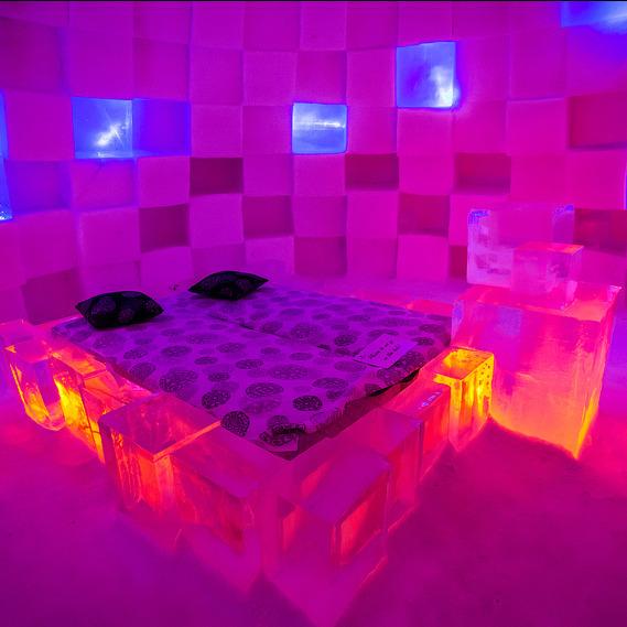 Неймовірні крижані готелі морозної Лапландії вражають(фото)