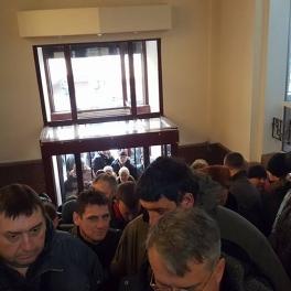 Активісти увірвалися до Міністерства юстиції та хочуть поспілкуватися з Петренком