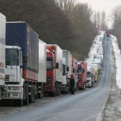 У Росії затримали вже 161 українську вантажівку