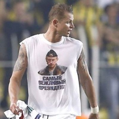 Футболіста «Локомотива» можуть дискваліфікувати за футболку з Путіним (ФОТО)