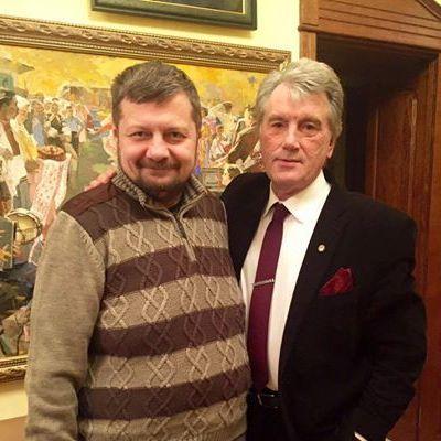 Блогери пожартували із зустрічі Мосійчука та Ющенка