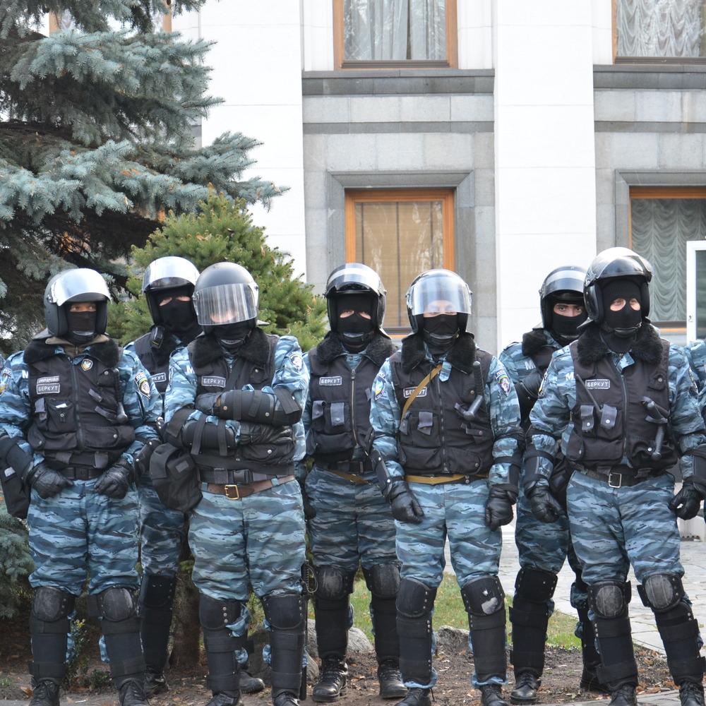Екс-бійці «Беркуту» будуть охороняти Київ під час вшанування Небесної сотні